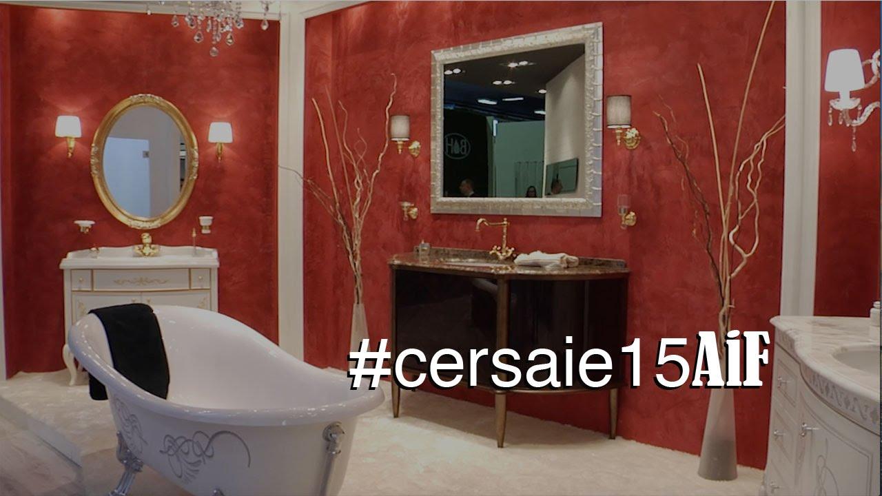 Cersaie 2015 ceramica made in italy per architettura e for Ceramica arredo bagno
