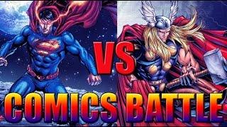Тор VS Супермен