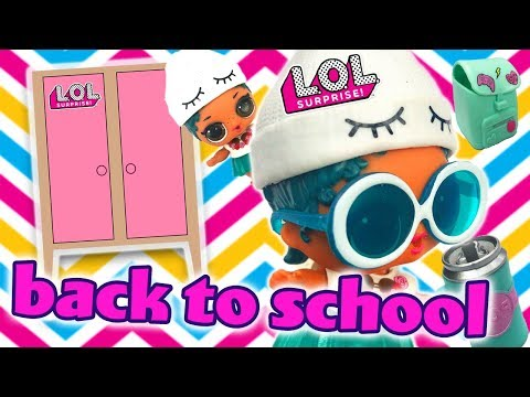 LOL Surprise Dolls go Back to School Shopping for Fall Clothes! With Barbie, Funky QT, & Dollface!
