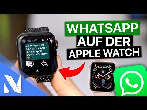WhatsApp auf der APPLE WATCH installieren   mit iOS 14 & watchOS 7 (2021)   Nils-Hendrik Welk