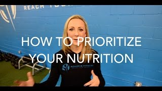 How To Prioritize Your Nutrition | VLOG 005