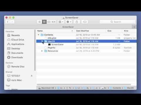 How to get rid of ScreenSaver app Adware (Mac) - virus
