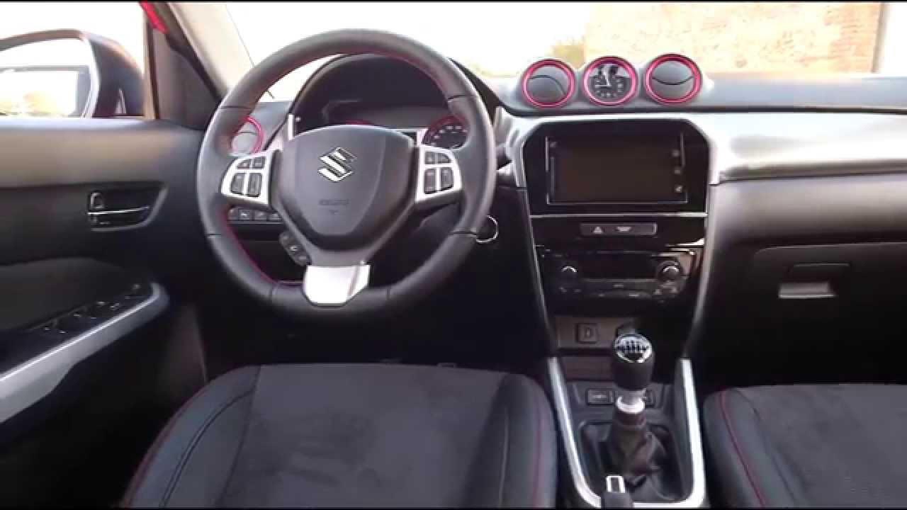 Suzuki Vitara S Interior Design Trailer
