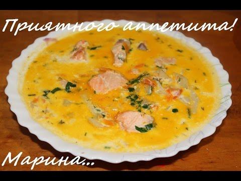Суп рыбный из семги в мультиварке