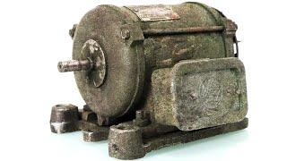 Old Electric Motor Restoration