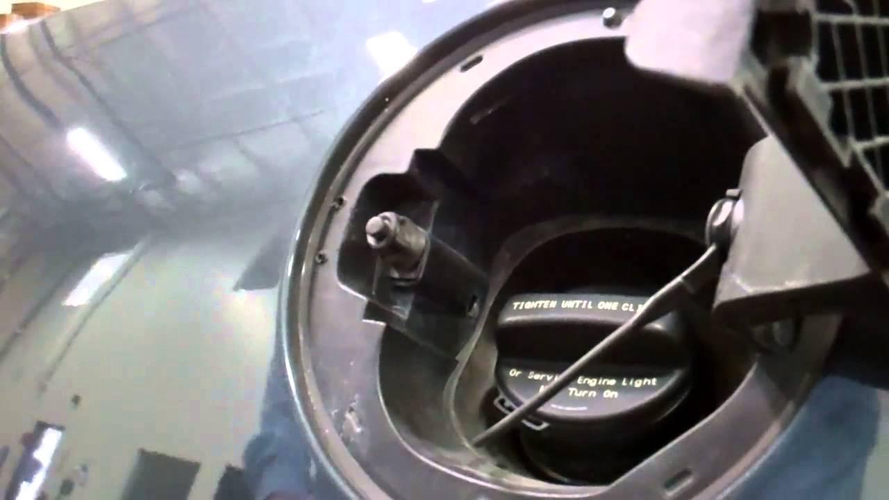Camaro Fuel Door Install Youtube