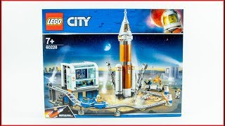 LEGO CITY 60228 Deep Space Rocket and Launch Control Construction Toy - UNBOXING