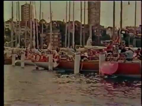 1973 Sydney Hobart Yacht Race Offical Cruising Yacht Club of Australia Film