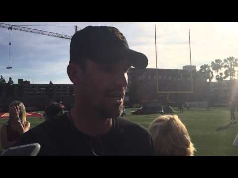 FightOn247 Video: USC QBs coach Tyson Helton on Max Browne and Sam Darnold