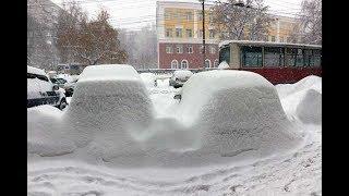 Саратов в ожидании катастрофы, или Как убирают снег в регионах ПФО