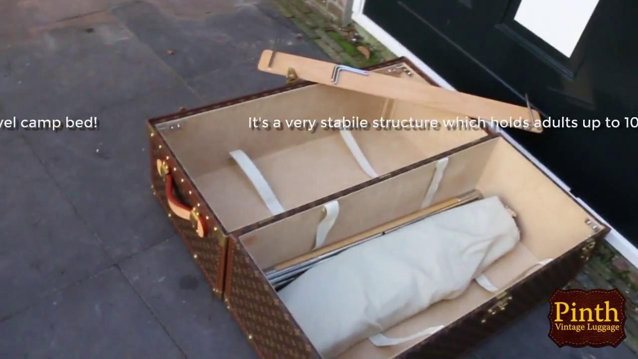 857190d87c1b Exploration Bed Trunk - Vintage Louis Vuitton - Pinth.com - YouTube