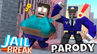Monster School : JailBreak RIP BABY Monsters - Minecraft Animation