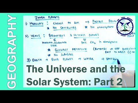 Universe and the Solar system: Part 2   SSC Geography   by TVA
