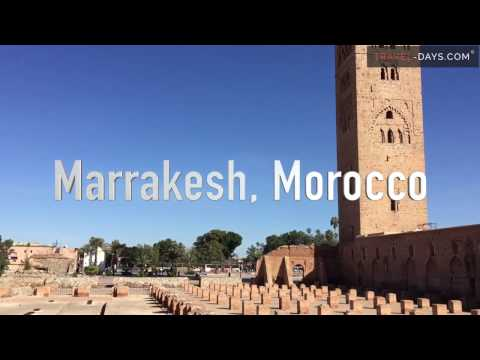 Marrakech, Morocco - Full-HD Video Tour and guide