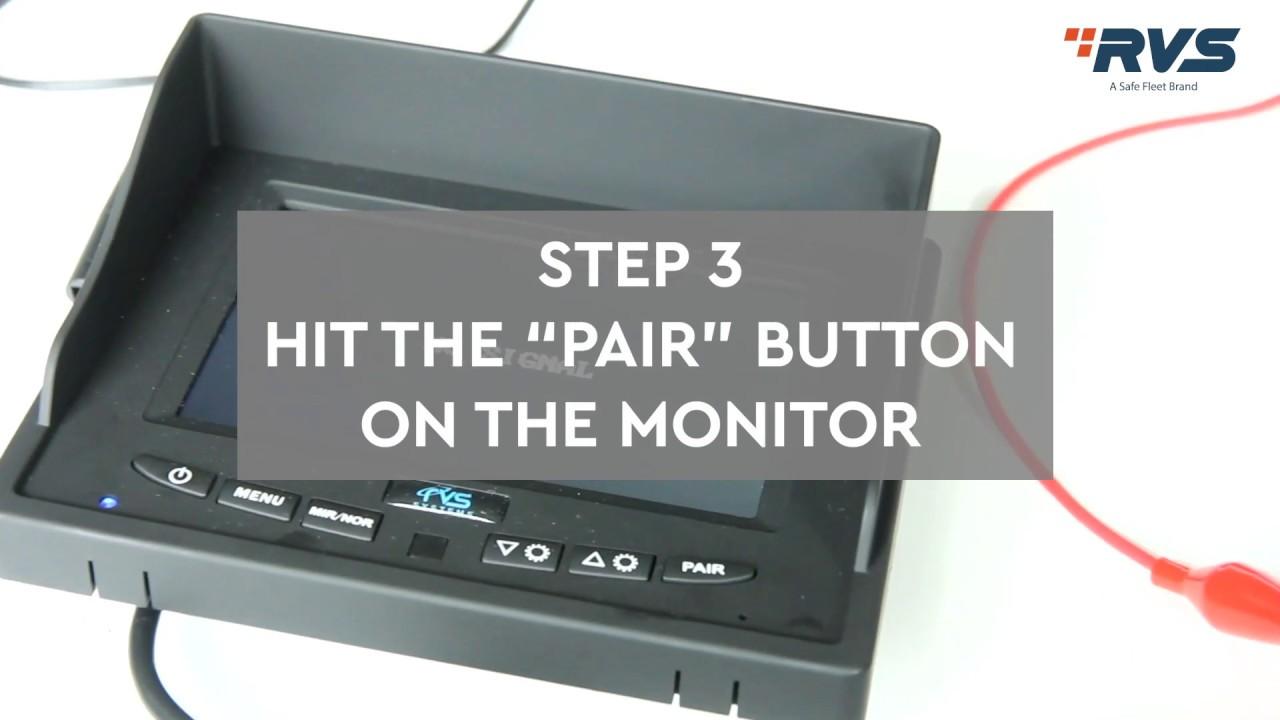 Instant Pair Demonstration Rvs 155w Simplesight Wireless Backup Camera System