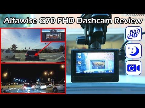 GOOD DSAHCAM! $46 Alfawise G70 FHD Car Dashcam Review