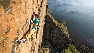 Jacopo Larcher on Rhapsody, Scottish E11 7a