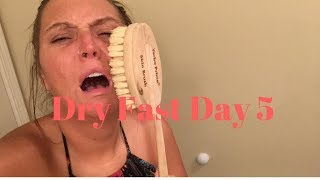 FASTING DAY 34 OF 100 // BREAKING THE DRY FAST