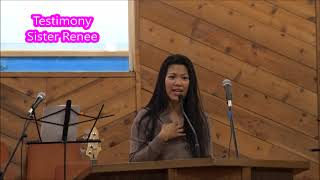 0128 Testimony  Sister Renee  First Southern Baptist Church of Buena Park   January 28,2018  촬영 김정식