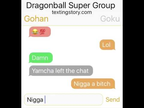 Dragonball Super Group Chat😂🤣
