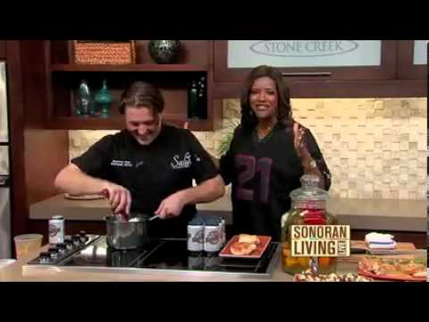 Salut Kitchen Bar Featured on Sonoran Living Segment 3 9 26 13