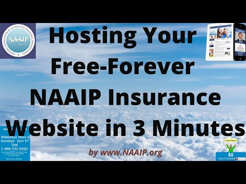 Free Insurance Agent Website on Your Own Domain