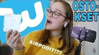 WISH OSTOKSET!    feikki airpodit? (ja paljon muuta)