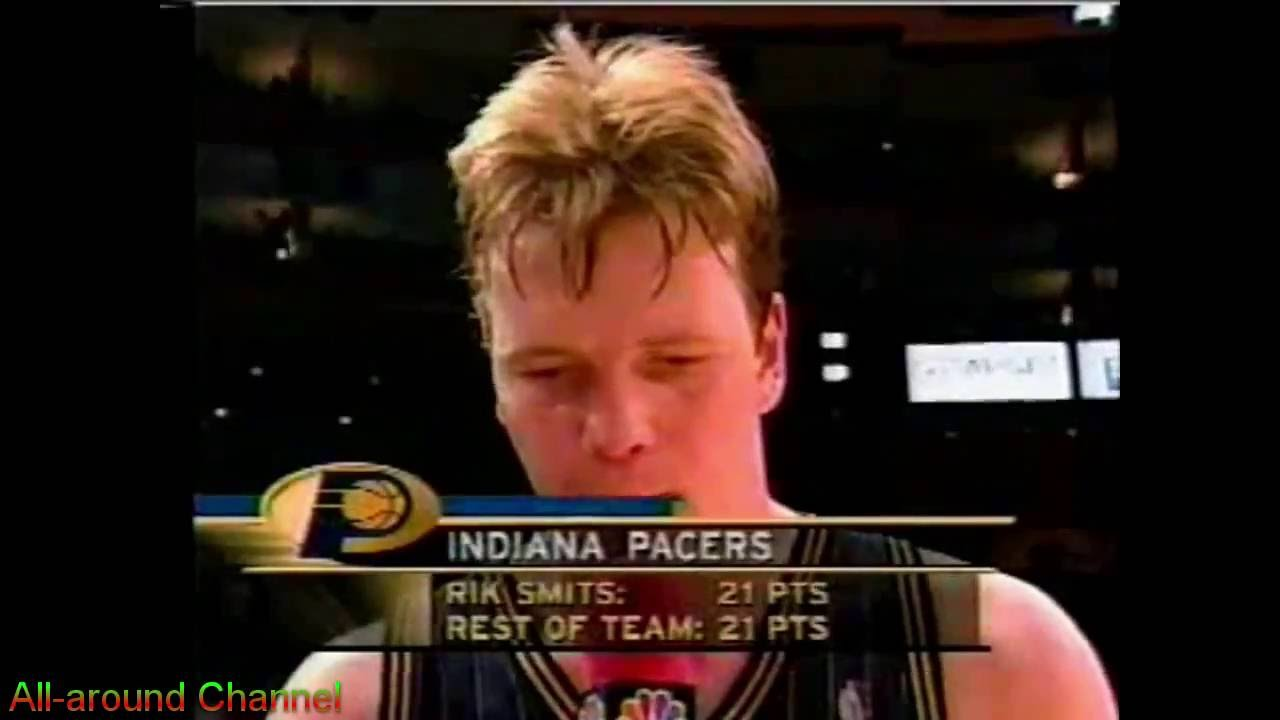 Rik Smits 25pts Knicks Gm 3 2000 Playoffs