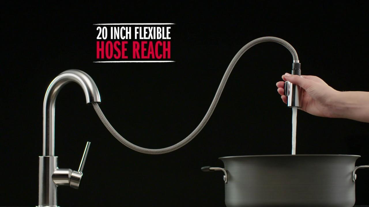 Delta Faucet: Trinsic Touch20 Kitchen Faucet- eFaucets.com - YouTube