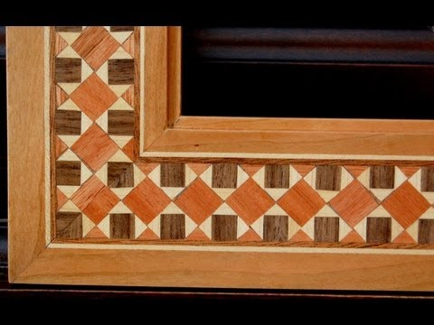 Picture Frame Cosmati Wood Inlay Youtube