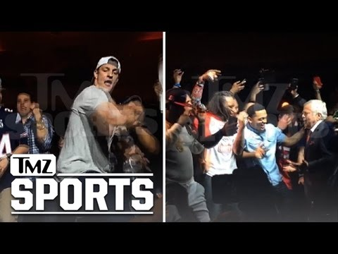 Rob Gronkowski -- Epic Dance Battle ... With Robert Kraft!!!! | TMZ Sports