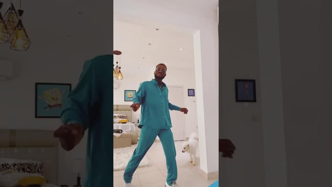 Broda Shaggi dancing to Koleyewon by Naira Marley