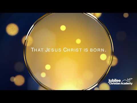Go Tell It On The Mountain - Lyric Video - Jubilee Christian Academy