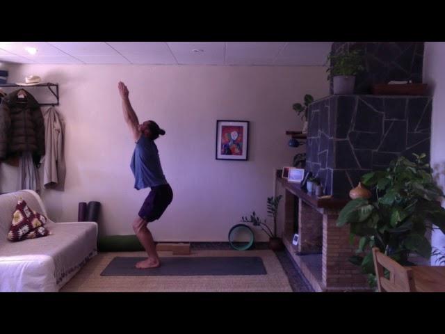 Clase de yoga Vinyasa con Ivan