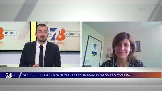 Yvelines | 7/8 le Journal (extrait) – Point sur la contamination au Coronavirus dans les Yvelines