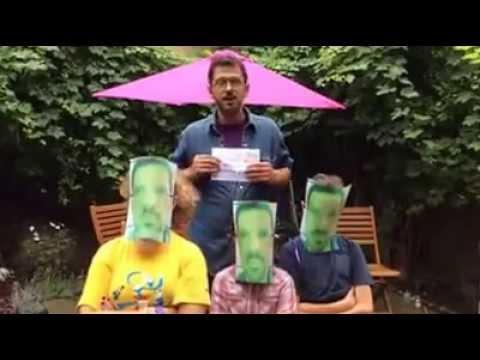 Director Peter Webber  ALS Ice bucket challenge
