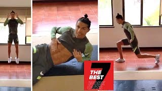 Cristiano Ronaldo teach 7 best of the Best fitness exercises