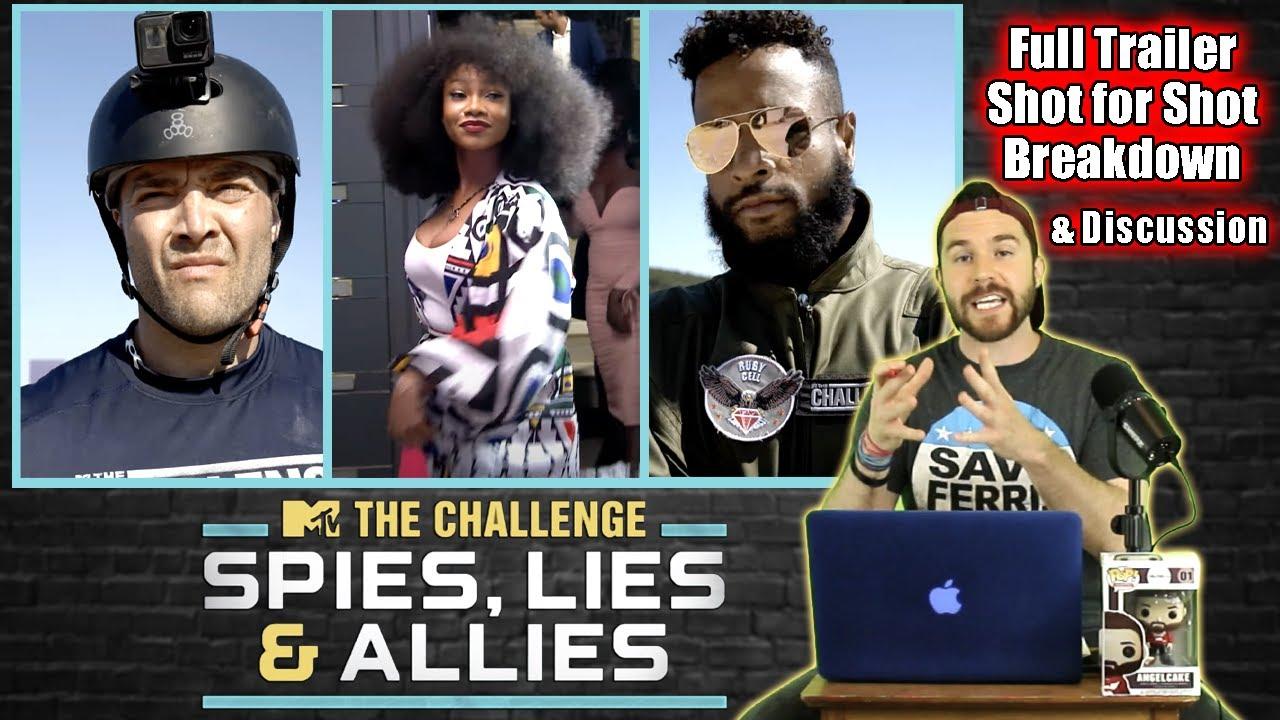 The Challenge 37: Spies, Lies & Allies Trailer Shot For Shot Breakdown & Discussion