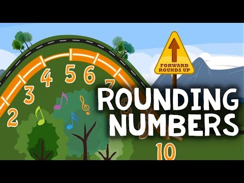 Rounding Numbers Song | Round Whole Numbers | 3rd, 4th Grade