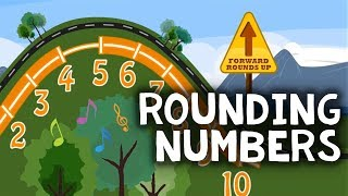 Rounding Numbers Song | Nearest 10 & 100 Rap