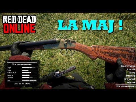 MAJ Red Dead Online : Up visuel, armes, vêtements, radar, etc...