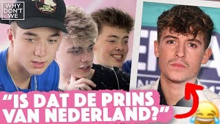 AMERIKAANSE BOYBAND raadt BN'ers 😂🔥🇺🇸 |  Why Don't We