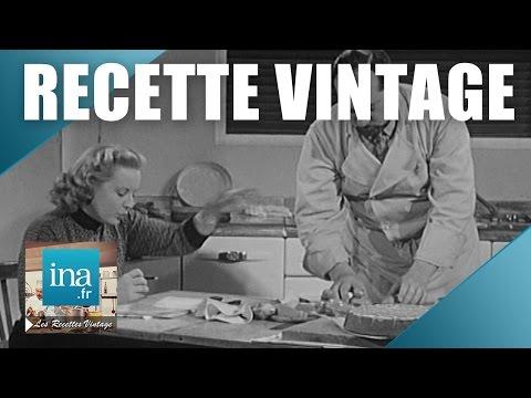 Recette : les secrets du glaçage de gâteau de Raymond Oliver | Archive INA