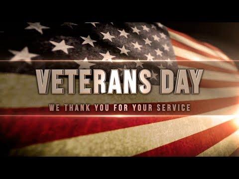 Grapevine Middle School Veterans Day Celebrartion 2017