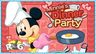 Minnie Mouse | Minnie´s Dinner Party | Fiesta de cocina con Minnie