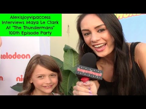 The Thundermans' Maya Le Clark Interview With Alexisjoyvipaccess - The Thundermans 100th Episode