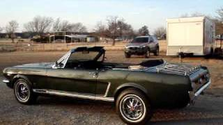 1965 Ford Mustang GT Convertible, 4Speed, A-Code, Rally Pack