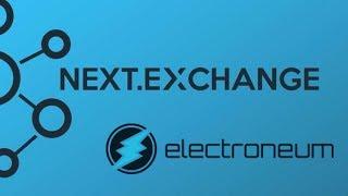 ELECTRONEUM ON NEW EXCHANGE!!!!!!!!
