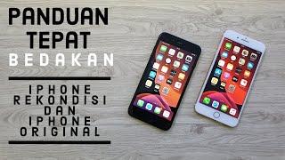 Cara bedakan Iphone asli dan rekondisi