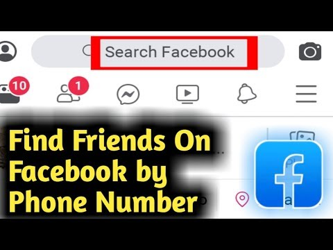 How To Find Friends On Facebook By Phone Number